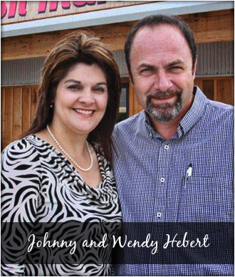 Johnny and Wendy Hebert